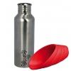 Láhev kovová s plastovou miskou 750 ml