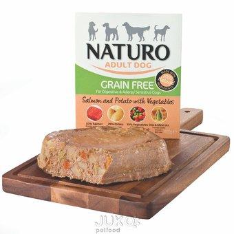 Naturo Grain Free Salmon&Potato with Veget 400g