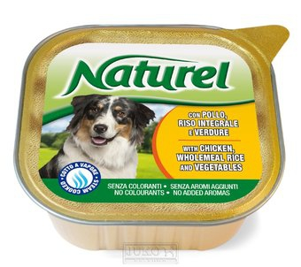 Naturel dog vanička Chicken,Rice&Vegetables 300g