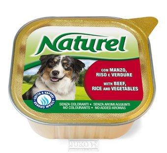 Naturel dog vanička Beef,Rice&Vegetables 300g