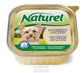 Naturel dog vanička Turkey&Rabit 150g