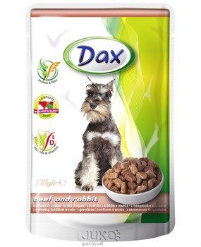 Dax kapsa DOG HOVĚZÍ+KRÁLÍK 100g