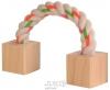 Dřevěná hračka s lanem 3x3x20cm