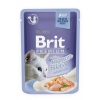 Brit premium 85g cat kaps.filety s lososem v želé 1ks