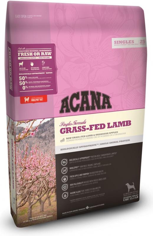 Acana Singles Grass-Fed Lamb 17 kg