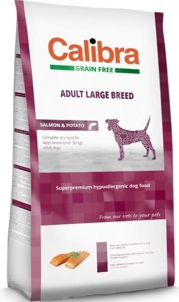 Calibra Dog GF Adult Large Breed Salmon NOVÝ 12 kg