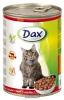 DAX kousky CAT HOVĚZÍ 415g