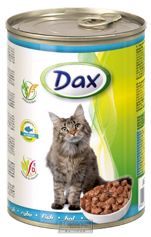 DAX kousky CAT RYBA 415g
