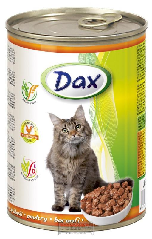 DAX kousky CAT DRŮBEŽÍ 415g