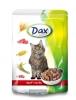 DAX kapsa CAT HOVĚZI 100g