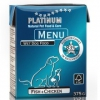 PLATINUM NATURAL MENU FISH & CHICKEN - RYBY & KUŘE 12 x 375g
