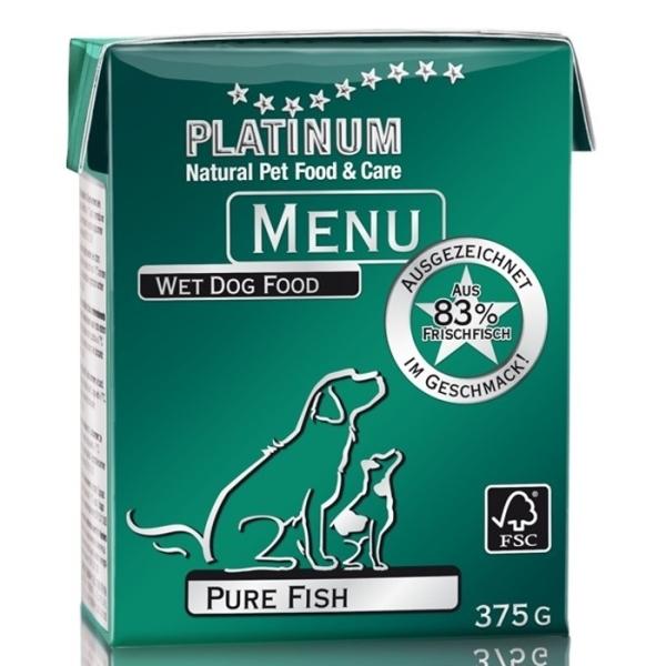 PLATINUM NATURAL MENU PURE FISH - RYBY 12 x 375g
