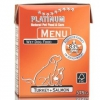 PLATINUM NATURAL MENU TURKEY & SALMON - KROCAN & LOSOS 12 x 375g