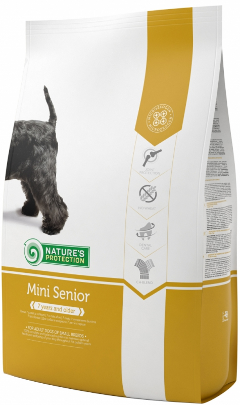 Nature's Protection Dog Dry Senior Mini 7,5 kg