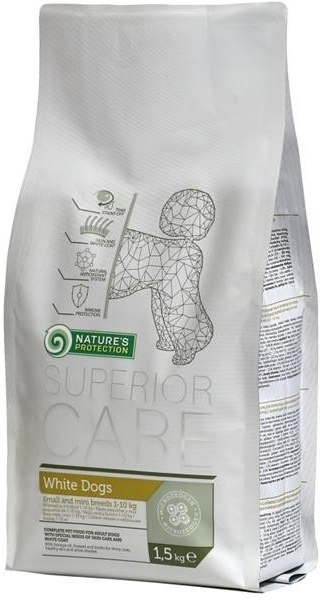 Natures Protection SC White Dog Adult Small&Mini Breeds 17 kg