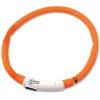 Obojek svítící pes 70cm oranžový