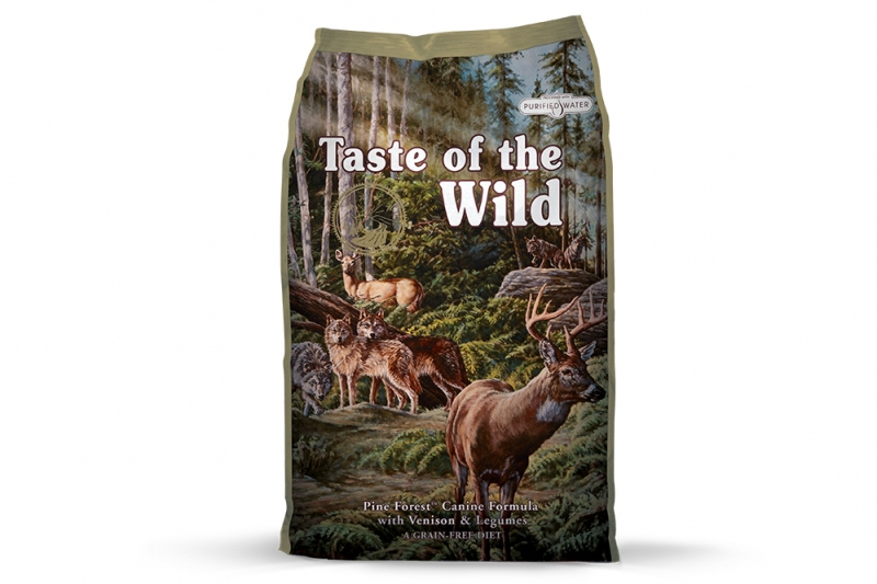 Taste of the Wild Pine Forest Canine 2 x 5,6 kg