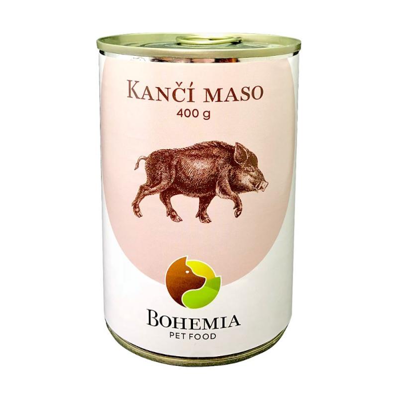 BOHEMIA Kančí maso ve vlastní šťávě 400 g