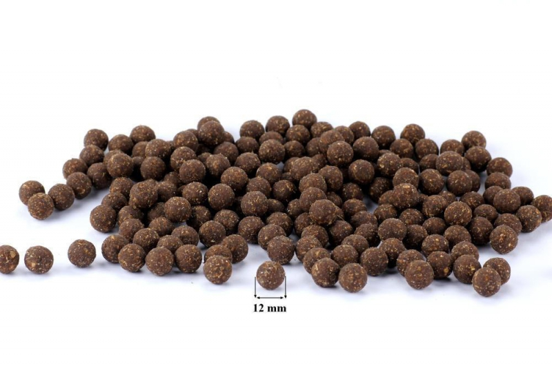 MINI PAMLSEK - Kuličky 12 mm - S lososem, 1 kg