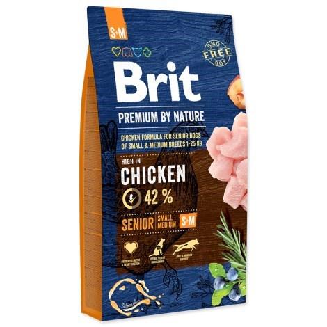 Brit Premium by Nature Senior S+M 8 kg