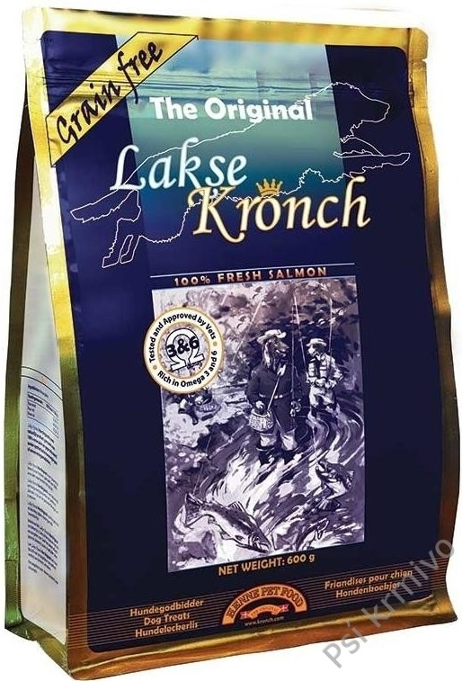 KRONCH Treat s lososovým olejem 100% 175g