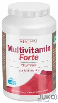 Nomaad MultiVitamin Forte 140g 40ks želé