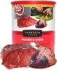 Topstein hovězí a srdce v plechu 800 g