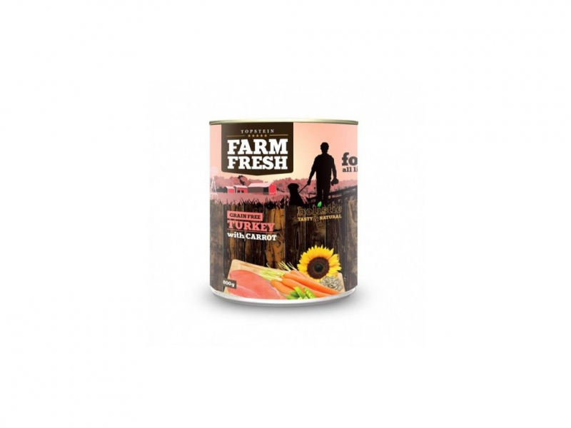 Farm Fresh Krůta s mrkví 800g