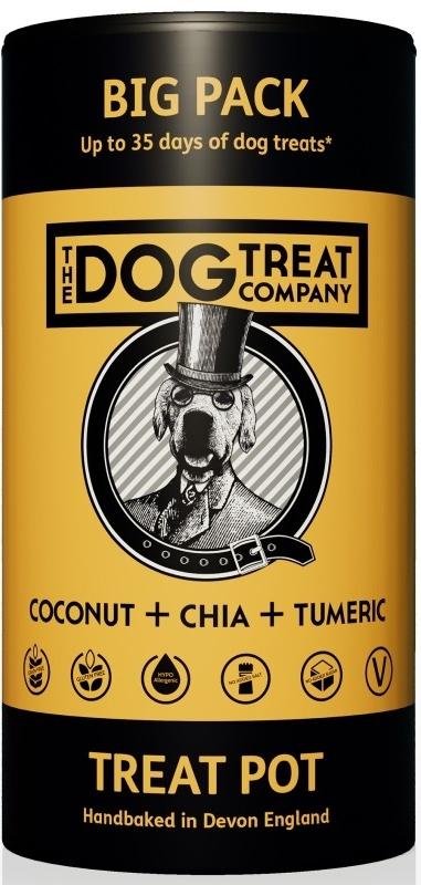 The Dog Treat Company sušenky kokos, chia, kurkuma 125 g