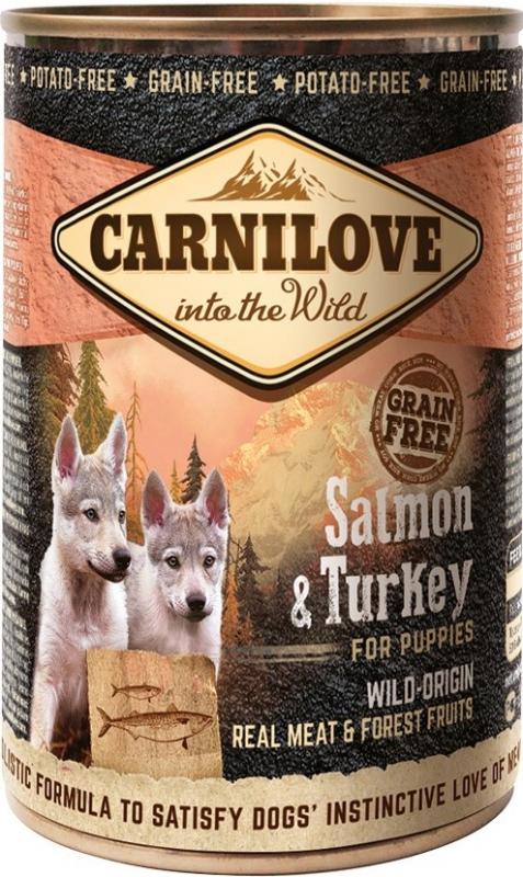 Carnilove Dog Wild Meat Salmon & Turkey for Puppies 400 g