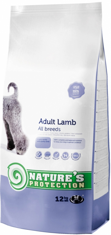Nature's Protection Dog Dry Adult Lamb 2 x 12 kg