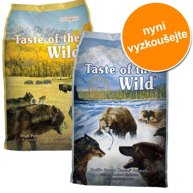 Taste of the Wild High Prairie Canine & Pacific Stream Canine 2 x 13 kg