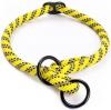 Obojek nylon polostah. kulatý - žlutý Freezack 1,2 x 40-45 cm