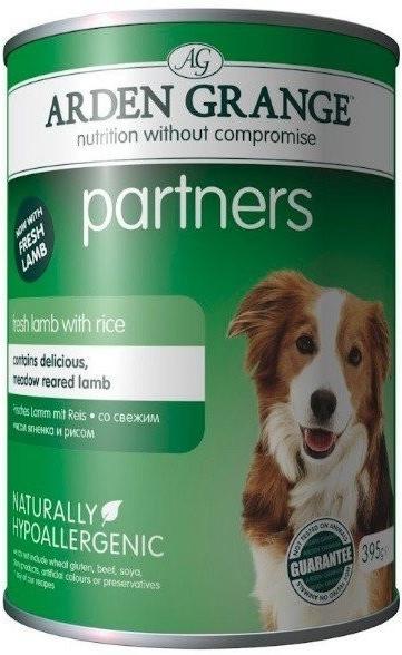Arden Grange Dog Partners Dog Lamb Rice 395 g