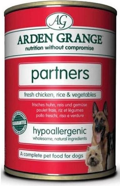 Arden Grange Dog fresh chicken, Rice, vegetables 395 g