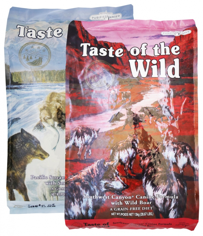 Taste of The Wild Pacific Stream 13kg + Southwest Canyon 13kg