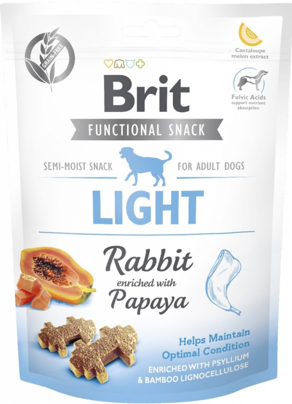 Brit snack Light rabbit & papaya 150 g