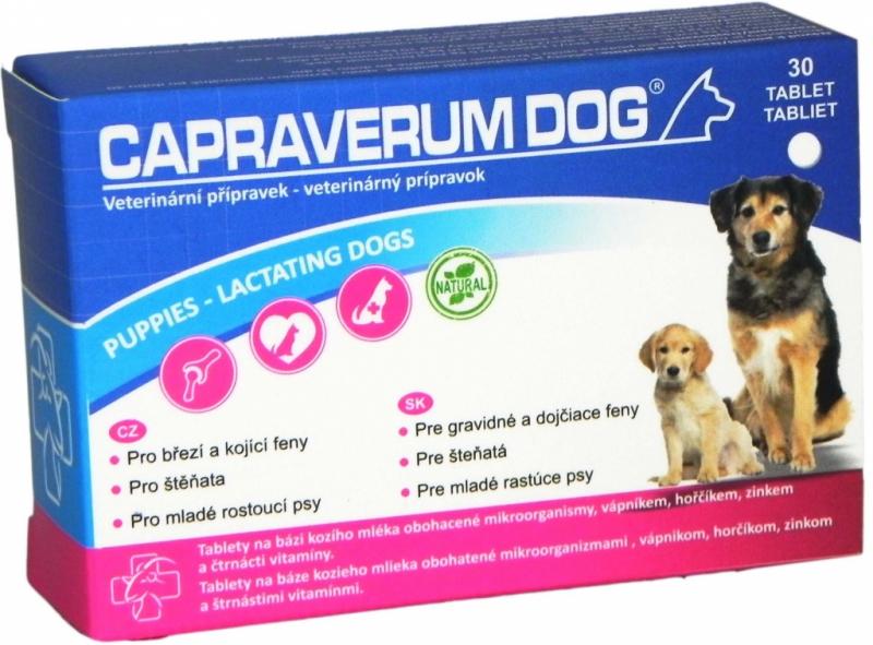 Capraverum Dog puppies-lactating dogs 30 tbl