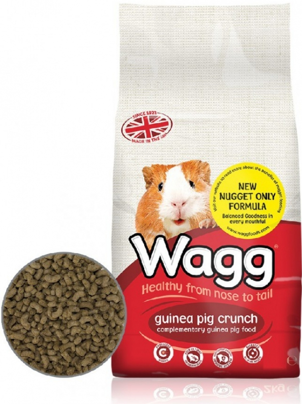Wagg Guinea Pig Single Kibble 10 kg