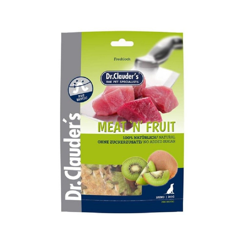 Dr.Cl. 80g Meat Fruit Snack Kiwi+Huhn
