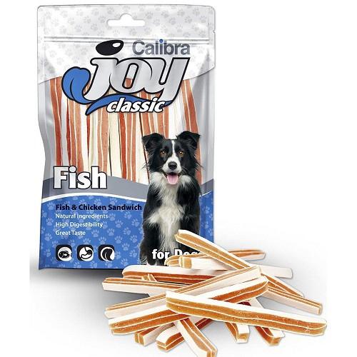 CALIBRA JOY DOG 80G CLASSIC FISH+CHICKEN SANDWICH NEW/14KS 94
