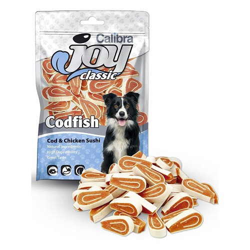 CALIBRA JOY DOG 80G CLASSIC COD + CHICKEN SUSHI NEW/14KS