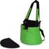 Klokánka & batoh na psa 2v1, no. 3, zelená - vel.1
