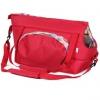 Cestovní taška pro psy, no.112, sovičky, červené - č.1
