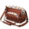 Cestovní taška pro psy, no.106, sovičky, hnědé - č.1