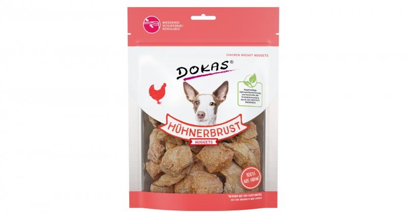 Dokas - Kuřecí prsa nugety 110 g