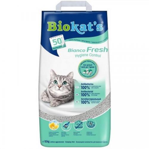 Stel.Biokats 10kg bianco fresh hygiene control
