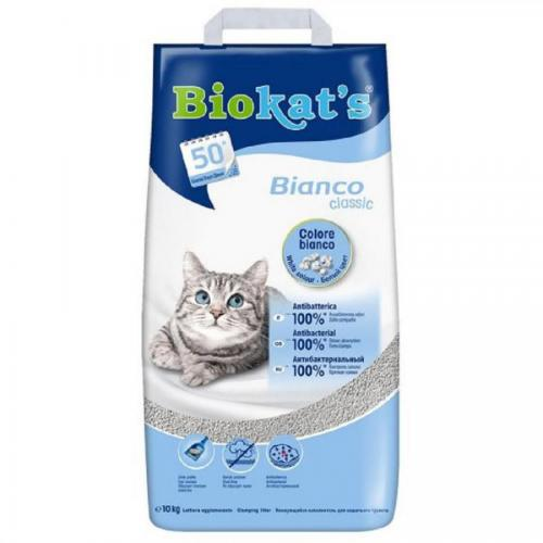 Stel.Biokats 10kg bianco classic