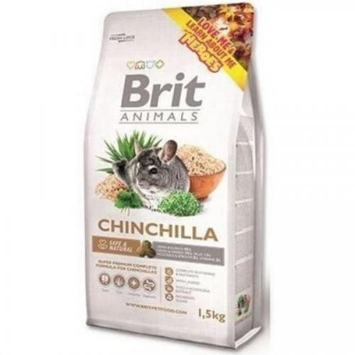 Brit animals 1,5kg činčila complete