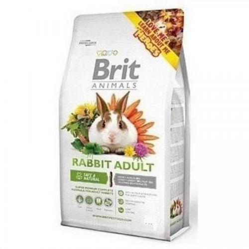 Brit animals 300g králík adult complete